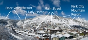 map of home in Park City